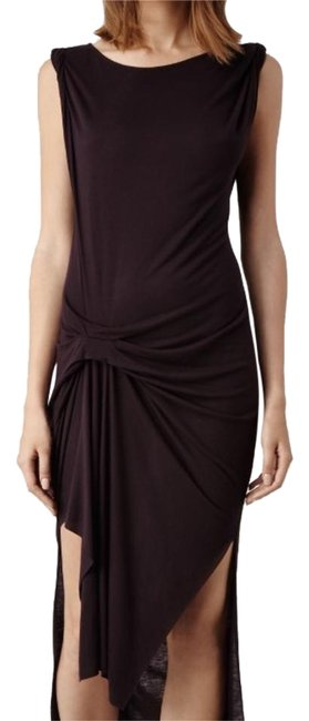 Item - Deep Burgundy Mid-length Casual Maxi Dress Size 2 (XS)