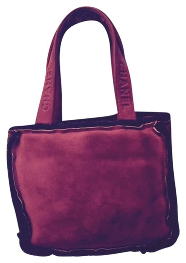 Chanel Tote in Red and burgundy