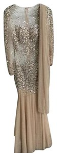 Nude Maxi Dress by Jovani