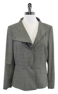 Piazza Sempione Cream & Black Houndstooth Jacket