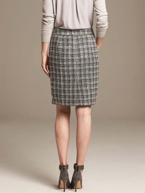Banana Republic Tweed Pencil Skirt Ombre Image 1