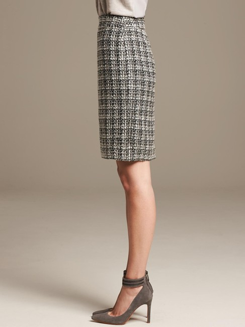 Banana Republic Tweed Pencil Skirt Ombre Image 2