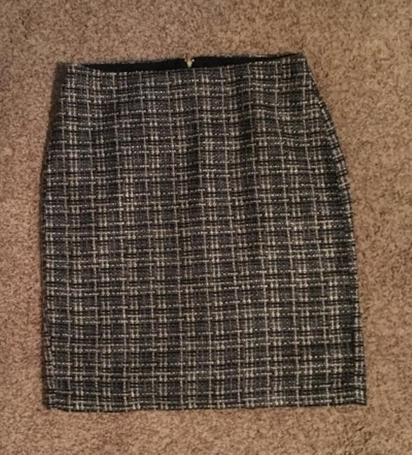 Banana Republic Tweed Pencil Skirt Ombre Image 3