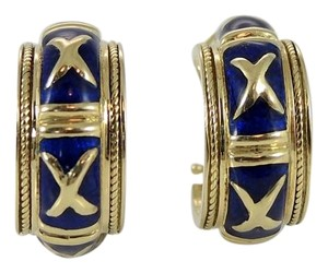 Hidalgo Hidalgo 18K Yellow Gold Navy Blue