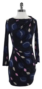 Diane von Furstenberg short dress Abstract Print Silk on Tradesy