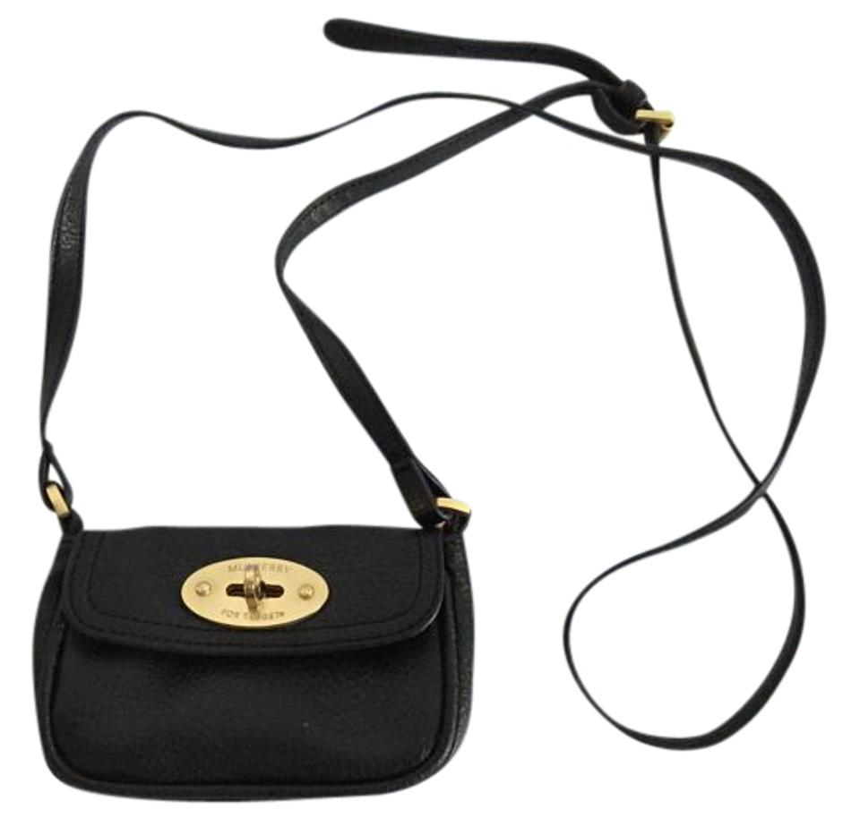 Mulberry for Target Black Leather Cross Body Bag - Tradesy 83860ce95b
