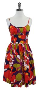 Trina Turk short dress Multi Color Floral Cotton Skater on Tradesy