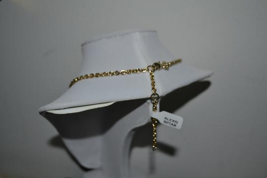 Alexis Bittar New ALEXIS BITTAR Warm Gray Lucite and Mother of Pearl Link Necklace Image 3