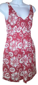 Old Navy short dress floral Summer V-neck on Tradesy