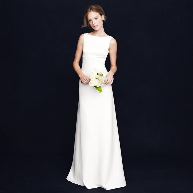 Item - Ivory Percy Gown Modest Wedding Dress Size 8 (M)
