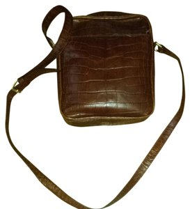 Talbots Leather Cross Body Bag
