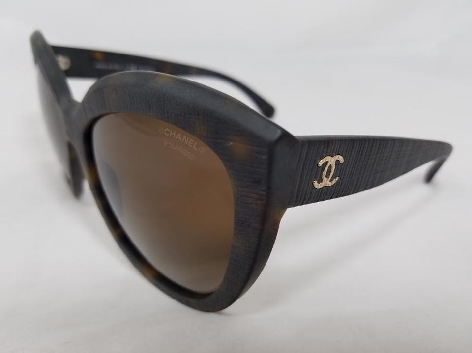 0fe5d01432 Chanel Chanel Butterfly Signature Tortoise Polarized Sunglasses 5332  C714 S9 Image 8. 123456789