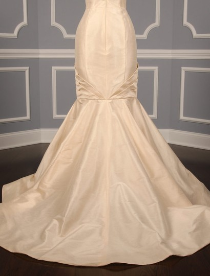 Anne Barge Champagne Dupioni Colette Formal Wedding Dress Size 10 (M) Image 10