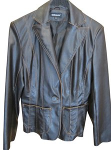 Dollhouse Distressed Faux Leather Brown Leather Jacket