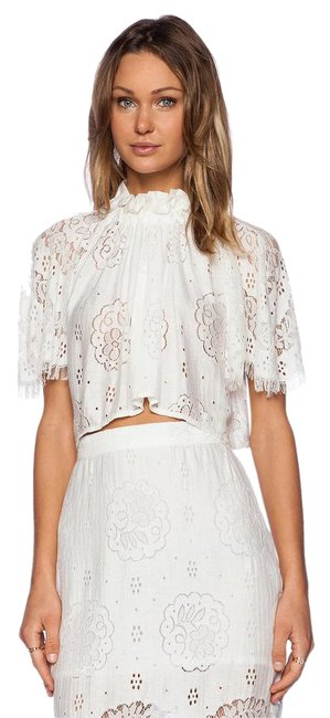 Preload https://img-static.tradesy.com/item/17675242/lover-white-heather-lace-crop-blouse-size-4-s-0-3-650-650.jpg