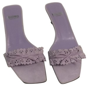 Moschino Lavender Sandals