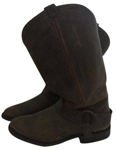 Frye Cowboy Boot Brown Boots