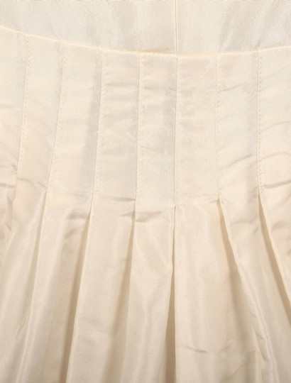 Anne Barge Pearl (Ivory) Silk Taffeta Lf132 X Formal Wedding Dress Size 6 (S) Image 10