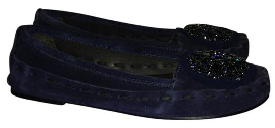 Vera Wang Midnight blue Flats