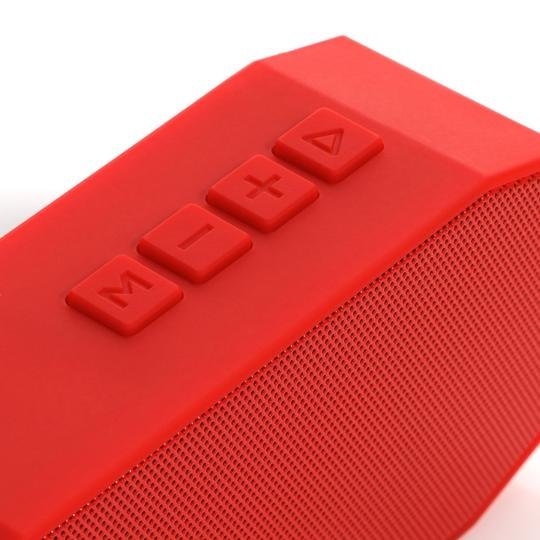 LIG Group Bluetooth 3.0 Portable Wireless Speaker with enhanced Bass, built in Microphone for hands-free phone call