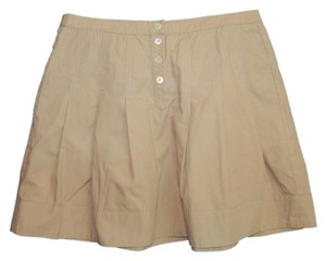 J.Crew Machine Washable Mini Skirt Tan