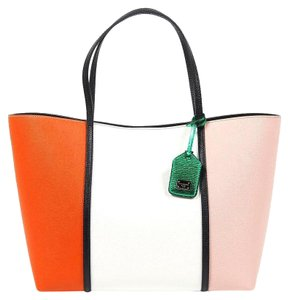 Dolce&Gabbana Dolce Gabbana Shopping Tote in Multicolor
