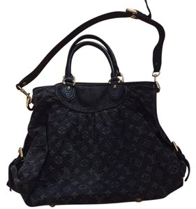 Louis Vuitton Satchel in Black / Gray
