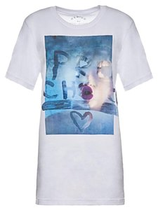 Marc Jacobs Miley Cyrus T Shirt White