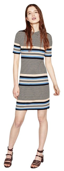 Preload https://img-static.tradesy.com/item/17676628/zara-multicolor-new-tags-striped-stretch-knit-style-collar-m-above-knee-short-casual-dress-size-8-m-0-1-650-650.jpg