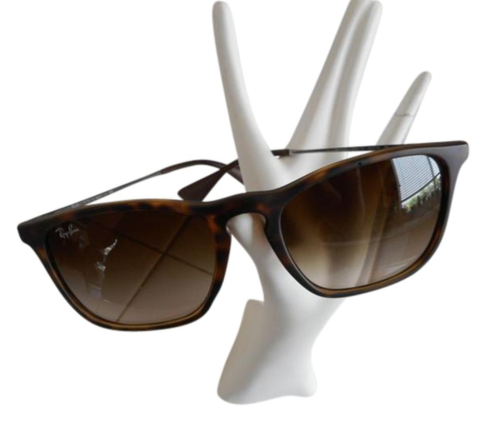0e42c5f884 Ray-Ban Brown   Tortise Rb 4187 Chris Havana Highstreet Collection Frame  Brown Lens Sunglasses