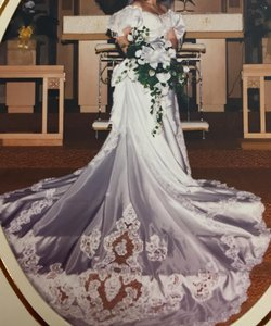 Beautiful Vintage 1990s Wedding Dress Wedding Dress