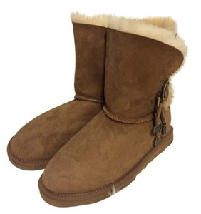 UGG Boots Charm Brown Boots