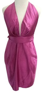 James Coviello Fuschia Pink Sexy Dress