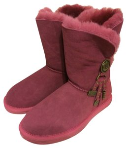UGG Australia Charm Red Boots