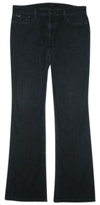 JOE'S Jeans 5 Pocket Style Zip Fly Cotton/poly Boot Cut Jeans-Dark Rinse