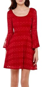Love Reign short dress Red on Tradesy