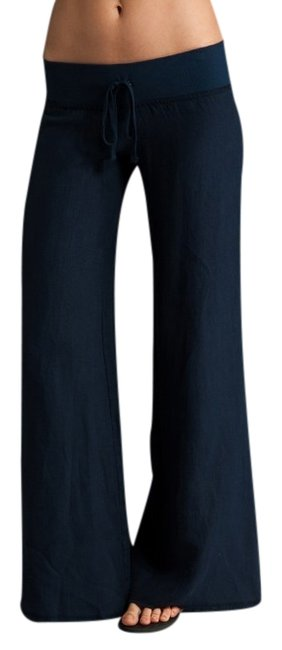 krisa Wide Leg Pants Blue