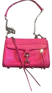 Rebecca Minkoff Satchel in Hot Pink