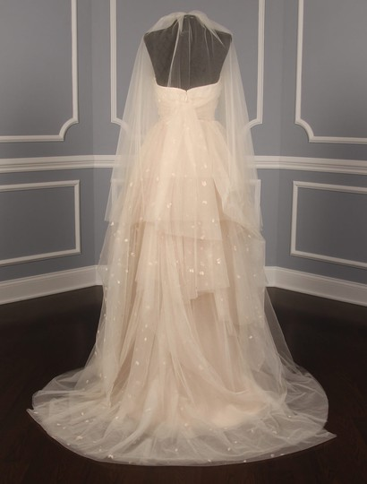 Blush Medium S486 Bridal Veil Image 10