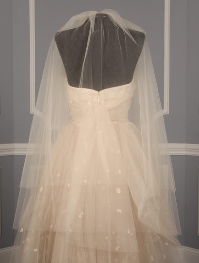 Blush Medium S486 Bridal Veil Image 11
