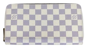 Louis Vuitton Louis Vuitton Azur Damier Zippy Organizer Wallet N60012 LV Dust Bag