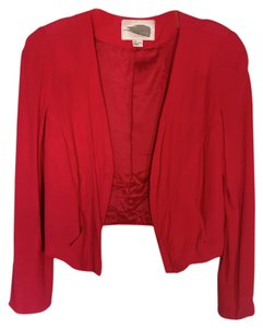 Forever 21 Red buttonless Blazer