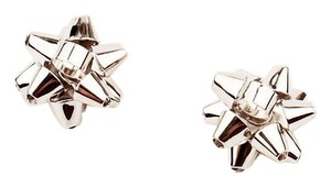 Kate Spade NEW Kate Spade New York Bourgeois Bow Studs - Silver Earrings Set