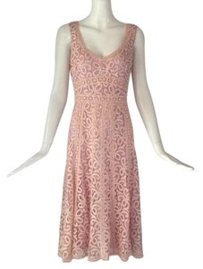 Nanette Lepore short dress Light pink/ lavender on Tradesy