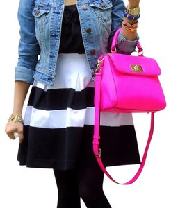 Kate Spade Very Stylish Satchel in Neon Pink