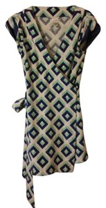 Diane von Furstenberg short dress multi WRAP on Tradesy