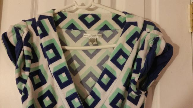 Diane von Furstenberg short dress multi WRAP on Tradesy Image 3