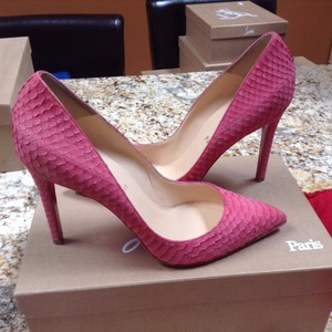 Christian Louboutin Red Bottom Summer pink Pumps