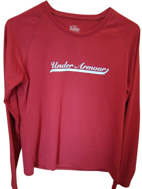 Preload https://item3.tradesy.com/images/under-armour-burgundy-long-sleeve-wine-red-with-blue-logo-tee-shirt-size-8-m-1768007-0-0.jpg?width=400&height=650