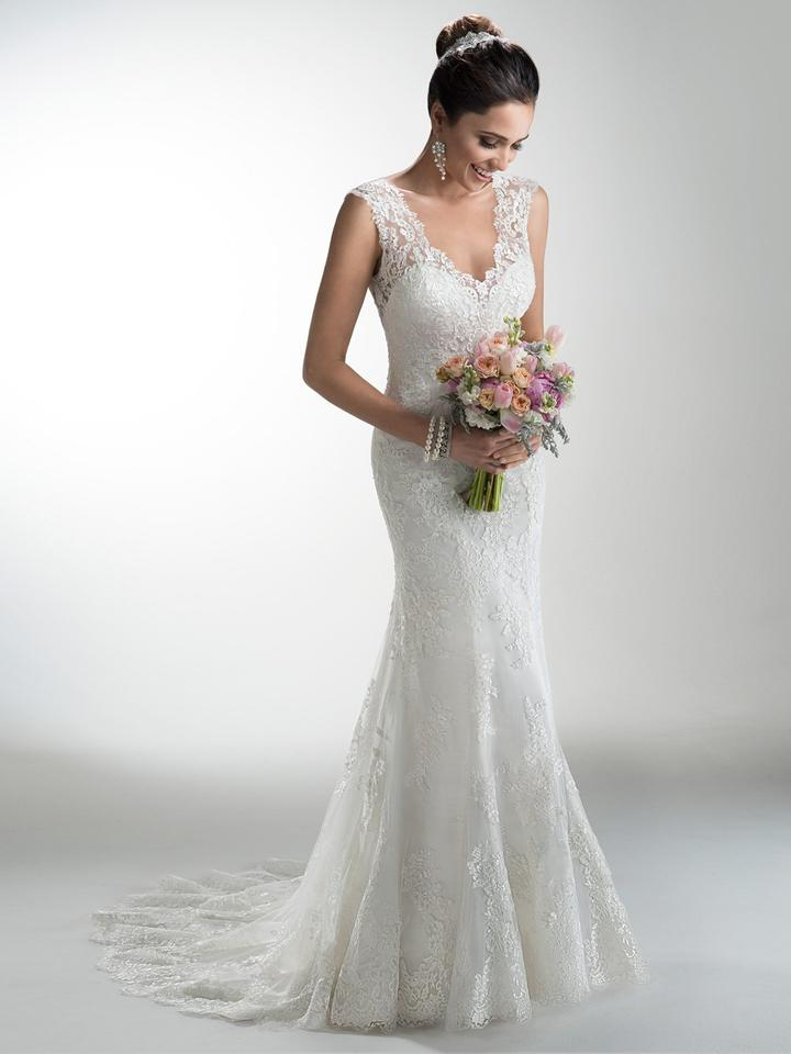 Maggie sottero melanie wedding dress on sale 20 off for Maggie sottero wedding dress sale